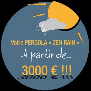 Véranda Zen Rain Guérande La Baule Pornichet